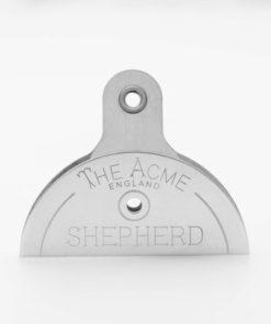 Kovová ovčácká píšťalka